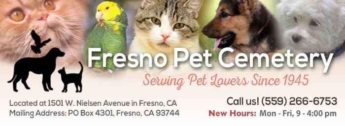 Fresno Pet Cemetery Homepage